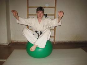 Упражнения с мячом Фото 18 б