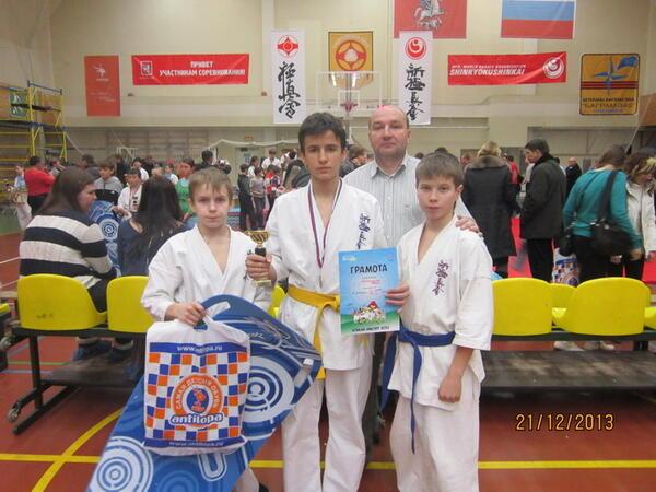 Байрамкулов Артур – бронзовый призёр Всероссийского Турнира «Юный Мастер»