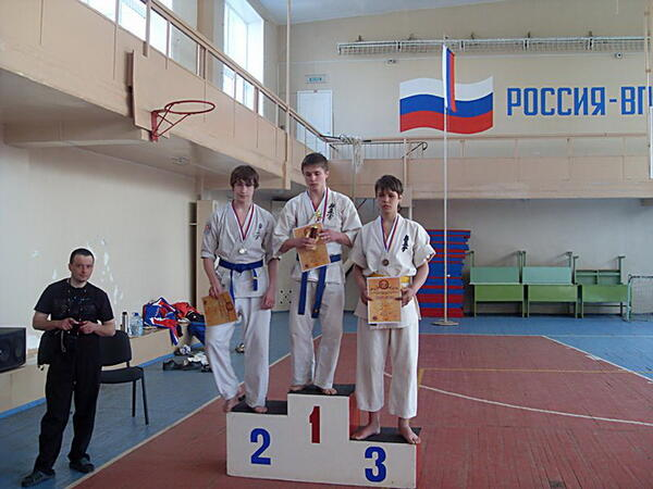 Эдуард Бикбулатов – победитель Первенства Кировской области
