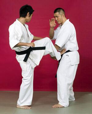 Тренируй удары ногами вместе с Кэндзи Ямаки!